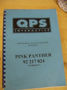 Pink Panther - Scorpion 4 Manual